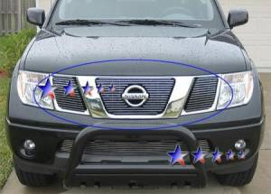 Dale's - Nissan 2005-2008 Frontier (Main|3 Section) Polished Aluminum Billet Grilles