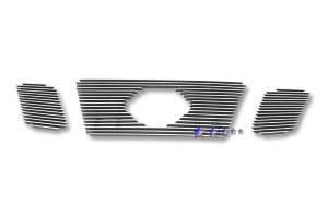 Dale's - Nissan 2009-2011 Frontier (Main|3 Section) Polished Aluminum Billet Grilles