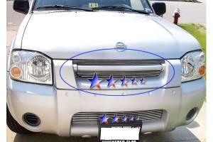 Dale's - Nissan 2001-2004 Frontier (Main & Upper) Polished Aluminum Billet Grilles