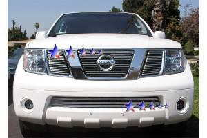Dale's - Nissan 2005-2008 Frontier (Lower Bumper) Polished Aluminum Billet Grille