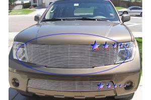 Dale's - Nissan 2005-2007 Pathfinder (Main) Polished Aluminum Billet Grille