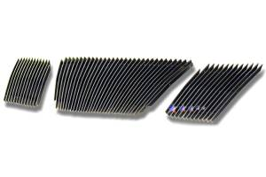 Dale's - Nissan 2005-2007 Pathfinder (Main|3 Section) Polished Aluminum Vertical Billet Grilles
