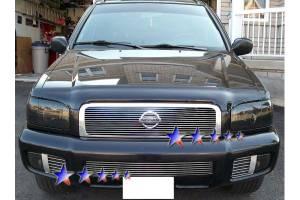 Dale's - Nissan 2000-2001 Pathfinder (Main) Polished Aluminum Billet Grille