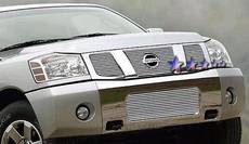 Dale's - Nissan 2004-2007 Titan (Main|3 Section) Polished Aluminum Billet Grilles