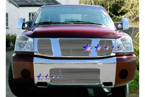 Dale's - Nissan 2004-2011 Titan (Lower Bumper) Polished Aluminum Billet Grille