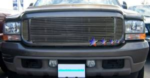 Dale's - Ford 2000-2004 Excursion (Main|3 Section) Polished Aluminum Billet Grilles