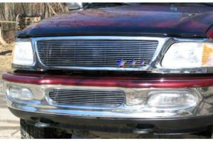 Dale's - Ford 1997-1998 Expedition (Main) Polished Aluminum Billet Grille