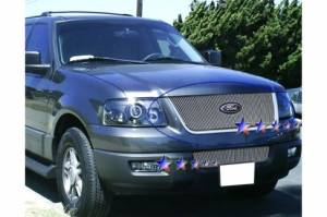 Dale's - Ford 2003-2006 Expedition (Main) Polished Aluminum Vertical Billet Grille