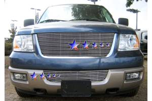 Dale's - Ford 2003-2006 Expedition (Lower Bumper) Polished Aluminum Billet Grille