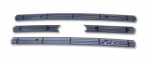 Dale's - Ford 2007-2011 Expedition (Main|4 Section) Black Powder Coated Aluminum Billet Grilles