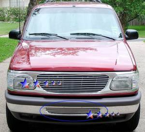 Dale's - Ford 1995-1998 Explorer (Lower Bumper) Polished Aluminum Billet Grille