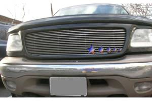 Dale's - Ford 2002-2005 Explorer (Main) Polished Aluminum Billet Grille