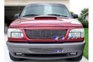 Dale's - Ford 1995-2001 Explorer (Main) Polished Aluminum Billet Grille