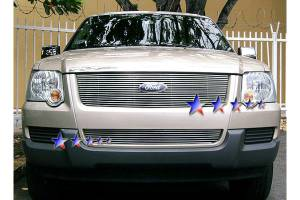 Dale's - Ford 2006-2007 Explorer (Main) Polished Aluminum Billet Grille