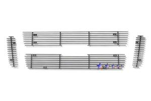 Dale's - Ford 2001-2003 Explorer Sport (Main|4 Section) Black Powder Coated Aluminum Billet Grilles