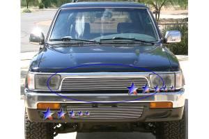 Dale's - Toyota 1992-1995 4Runner (Main) Polished Aluminum Billet Grille