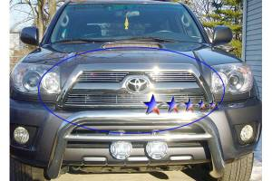 Dale's - Toyota 2006-2009 4Runner (Main|3 Section) Polished Aluminum Billet Grilles