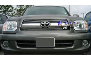 Dale's - Toyota 2005-2007 Sequoia (Main|2 Section) Polished Aluminum Billet Grilles