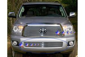 Dale's - Toyota 2008-2011 Sequoia (Lower Bumper|3 Section) Polished Aluminum Billet Grilles