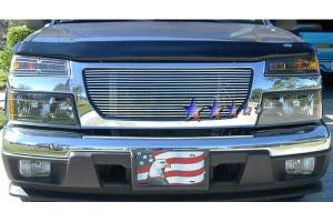 Dale's - GMC 2004-2011 Canyon (Main|No Show Logo) Polished Aluminum Billet Grille