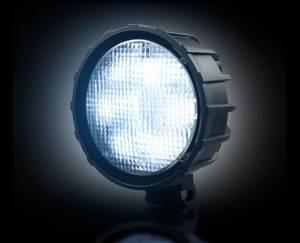 RECON - 30-Watt LED Round Driving Light Kit (Clear Lens w/ Internal Chrome)