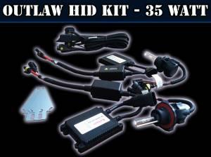 Outlaw HID Kit (Slim / 35 Watt AC) For H1 Bulbs