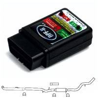 """GearboxZ - DPF-R 4.0 Programmer with aFe 4"""" Full Race Exhaust (Stainless Steel) Duramax 