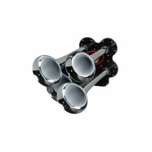 HornBlasters - Hornblasters AH-B4   Chrome Bullet Air Horn