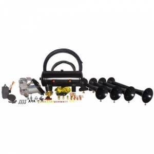 HornBlasters - Hornblasters HK-S4-232 | Conductor's Special Model 232 Train Horn Kit  (full Package)