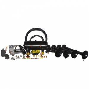 HornBlasters - Hornblasters HK-S4-240 | Conductor's Special Model 240 Train Horn Kit  (full Package)