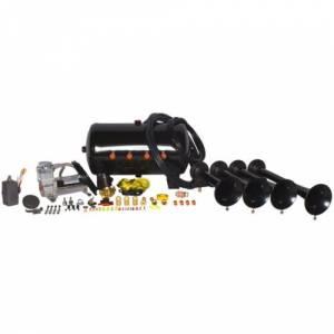 HornBlasters - Hornblasters HK-S4-540 | Conductor's Special Model 540 Train Horn Kit (full Package)