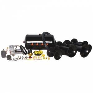 HornBlasters - Hornblasters HK-K5-540 | Nathan Airchime K5la 540 Train Horn (full Package)