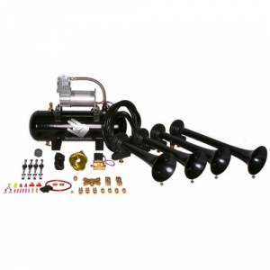 HornBlasters - Hornblasters HK-S4-228VX | Shocker Classic 228vx Train Horn Kit (full Package)
