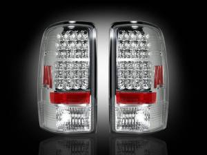 RECON - RECON 264177CL | LED Tail Lights - CLEAR (2000-2006 Tahoe, Yukon, Suburban, Denali)