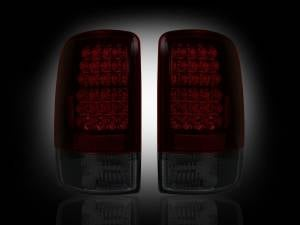 RECON - RECON 264177RBK | LED Tail Lights - RED SMOKED (2000-2006 Tahoe, Yukon, Suburban, Denali)