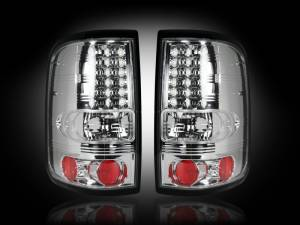 RECON - RECON 264178CL | LED Tail Lights - CLEAR (2004-2008 Ford F-150)
