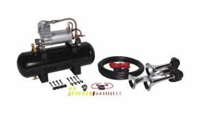 HornBlasters - Hornblaster HK-B3-V228 2 Gallon Jackass Horn Kit