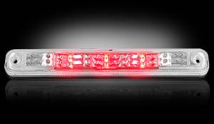 RECON - RECON 264123CL | LED 3rd Brake Light - CLEAR For 1994-1998 Sierra & Silverado