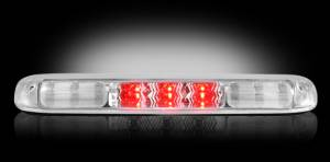 Recon - RECON 264115CL | LED 3rd Brake Light - CLEAR For 1999-2007 Sierra & Silverado
