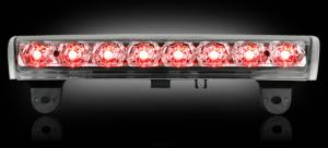 Recon - RECON 264114CL | LED 3rd Brake Light - CLEAR For 2000-2006 Chevy & GMC Tahoe, Yukon, Suburban, Denali