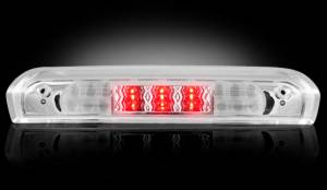 Recon - RECON 264118CL | LED 3rd Brake Light - CLEAR For 2002-2009 Dodge Ram