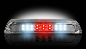 RECON - RECON 264113CL   LED 3rd Brake Light - CLEAR For 2007-2013 Toyota Tundra