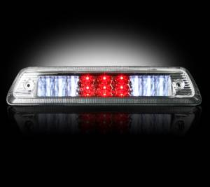 RECON - RECON 264112CL | LED 3rd Brake Light - CLEAR For 2009-2016 Dodge Ram 1500 & 2010-2016 2500/3500