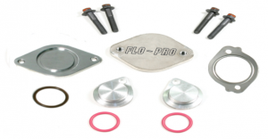 Flo~Pro - Flo-Pro EGR64CD | EGR Valve/Cooler Delete Kit For Ford 08-10 6.4L Powerstroke