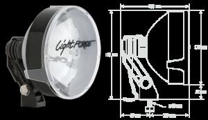 LightForce - Light Force RMDL170HT | Striker 170 12V 100w Compact Driving Lights - Pair