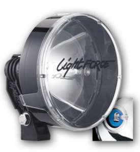 LightForce - Light Force HID170T50W | Striker 170 12v/24v 50w HID Compact Driving Lights - Pair