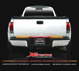 "RECON - RECON 26415X | 49"" Xtreme LED Tailgate Light Bar - Amber, White & Red"