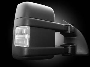 RECON - RECON 264140CL | LED Side Mirror Lens - CLEAR For Ford Powerstroke 08-16