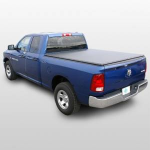"Downey - Downey SST 206146 | 5'7"" Extra Short Bed Slant Side Tonneau Bed Cover For Dodge Ram 09-16"