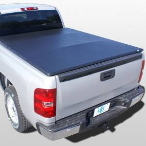 Downey - Downey SST 206112 | 8' Long Bed Slant Side Tonneau Bed Cover For Ford F150 04-16